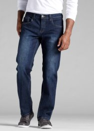 Джинсы стреч Regular Fit Straight, John Baner JEANSWEAR, темно-синий