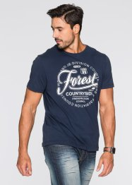 Футболка Regular Fit, John Baner JEANSWEAR, темно-синий