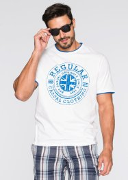 Футболка Regular Fit 2 в 1, bpc bonprix collection, черный