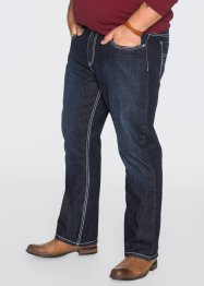 Джинсы Regular Fit Bootcut, John Baner JEANSWEAR, темно-синий