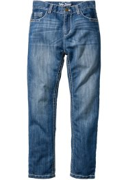 Джинсы Slim Fit, John Baner JEANSWEAR, синий «потертый»