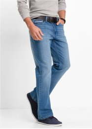 Джинсы Regular Fit Bootcut, John Baner JEANSWEAR, синий «потертый»