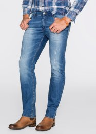 Джинсы-стретч Slim Fit Straight, John Baner JEANSWEAR, синий