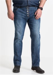 Джинсы на пуговицах Regular Fit Straight, John Baner JEANSWEAR