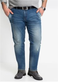 Джинсы стрейчевые Regular Fit Tapered, John Baner JEANSWEAR