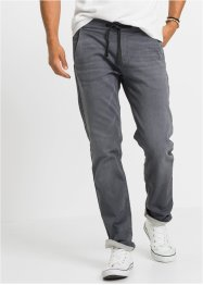 Джинсы из трикотажа, Regular Fit Straight, John Baner JEANSWEAR