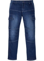 Джинсы карго стрейч Regular Fit Straight, John Baner JEANSWEAR