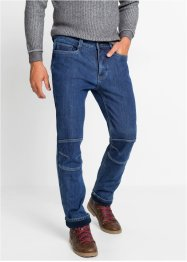 Термоджинсы стрейч Regular Fit Straight, John Baner JEANSWEAR