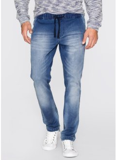 Трикотажные джинсы Regular Fit Straight, John Baner JEANSWEAR