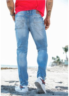 Джинсы стрейч Slim Fit Straight, John Baner JEANSWEAR