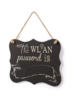 "Вывеска ""WLAN-Passwort"", bpc living bonprix collection"