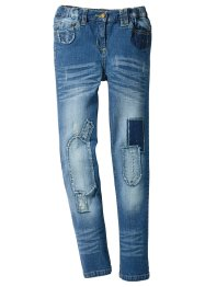 Джинсы Skinny с заплатами, John Baner JEANSWEAR